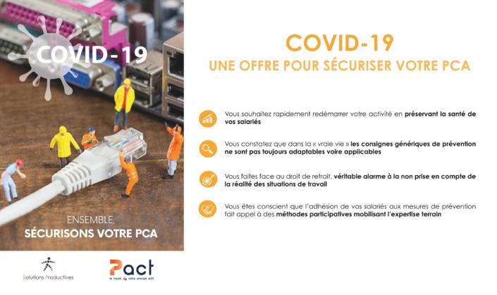 COVID-19 -OFFRE SECURISER-VOTRE-PLAN-CONTINUITE-ACTIVITE