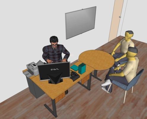 modelisation-agencement-bureaux-3D
